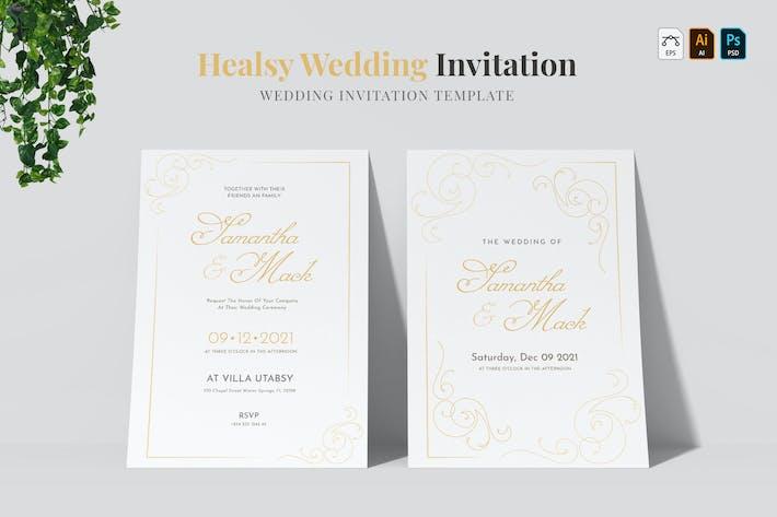 Thumbnail for Healsy | Wedding Invitation