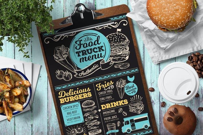 Thumbnail for Food Truck Menu Template