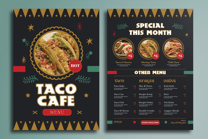 Thumbnail for Mexican Food Menu