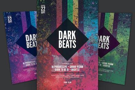 Dark Beats Flyer