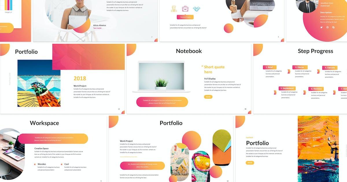 Download Clorama - Creative Keynote Template by SlideFactory