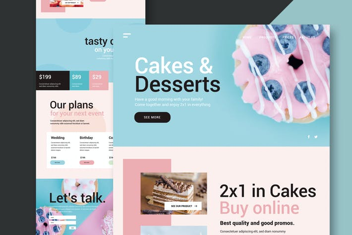Thumbnail for Cakes & Desserts - Website