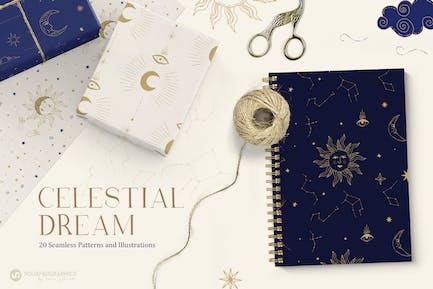 Celestial Patterns & Illustrations