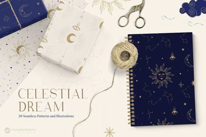 Celestial Patterns & Illustrations