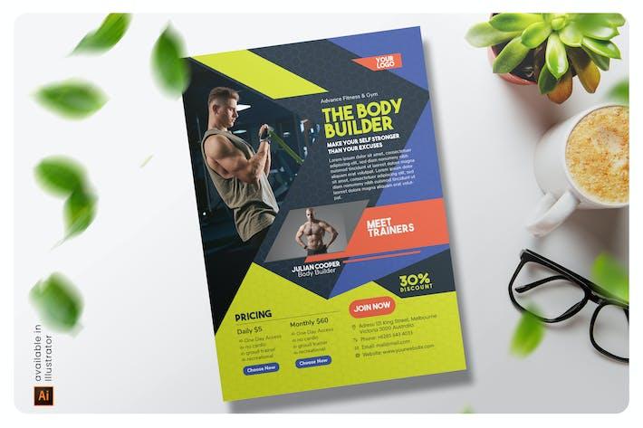 Thumbnail for The Body Builder Flyer