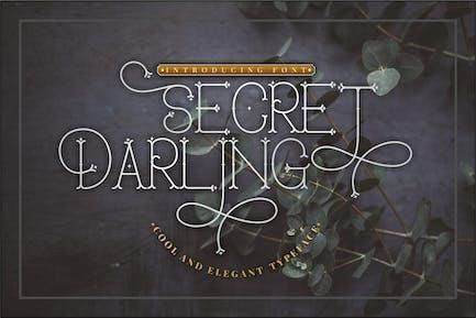 Secret Darling - Fuente Monoline clásica