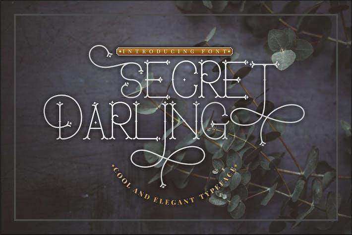 Thumbnail for Secret Darling - Fuente Monoline clásica