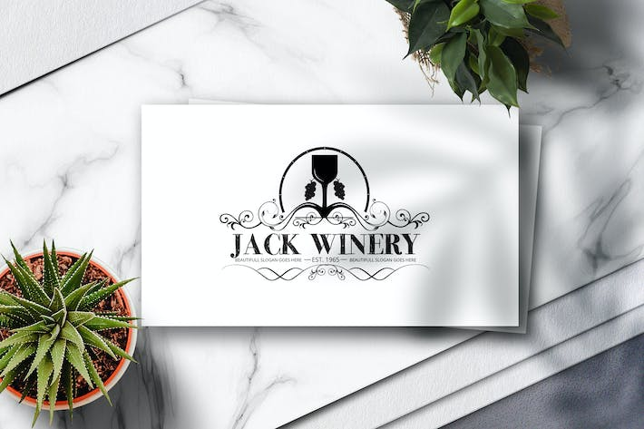 Thumbnail for Winery Crest Logo