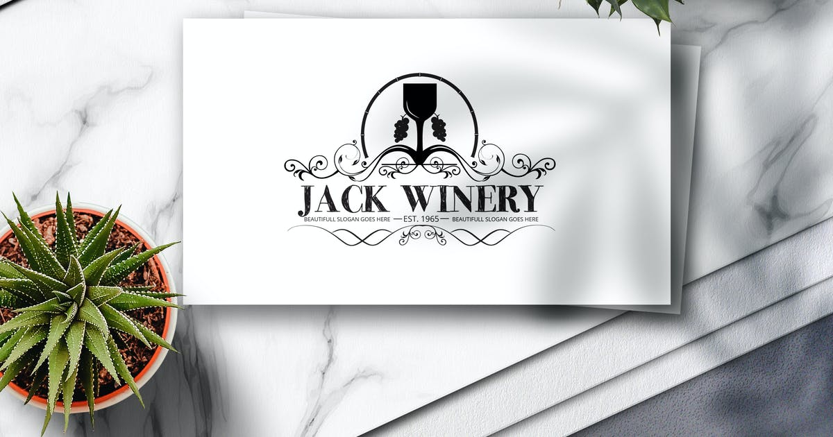 Download Winery Crest Logo by Voltury