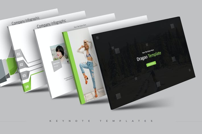 Cover Image For Dragao - Keynote Template
