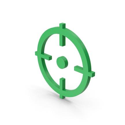 Symbol Aim Green