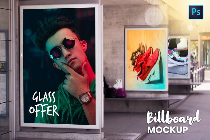 Thumbnail for Billboard Mockup