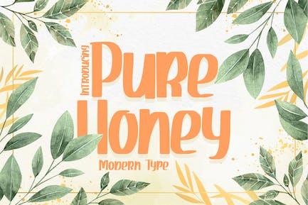 Чистый мед | Современный тип