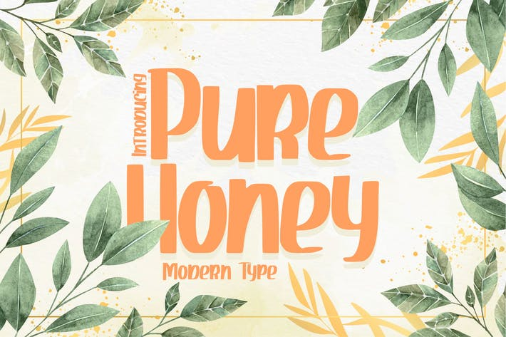 Thumbnail for Miel pur | Type moderne