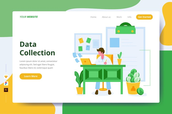 Thumbnail for Data Collection - Landing Page