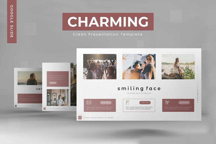 Thumbnail for Charming -  Google Slides Template