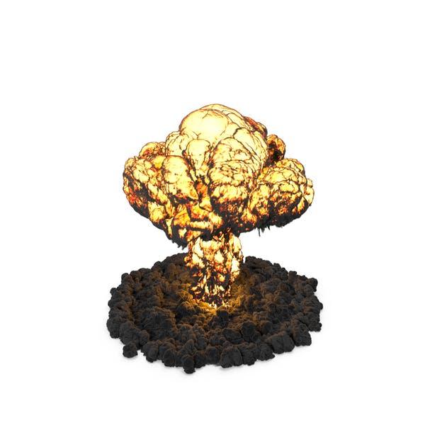 Mushroom Cloud Explosion
