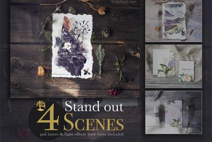 4 Rustic Stand Out scense