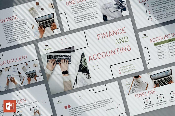Thumbnail for Finance & Accounting PowerPoint Presentation