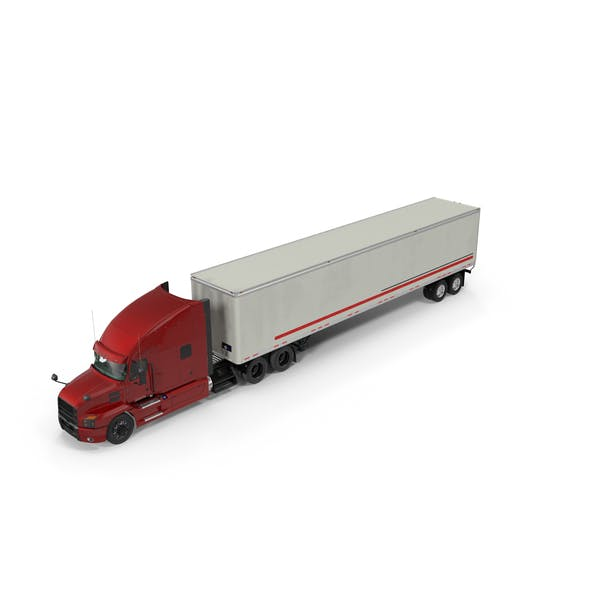Semi Truck with Trailer Generic