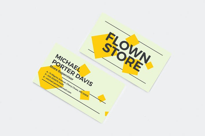 Thumbnail for Professional and Creative Business Card 07