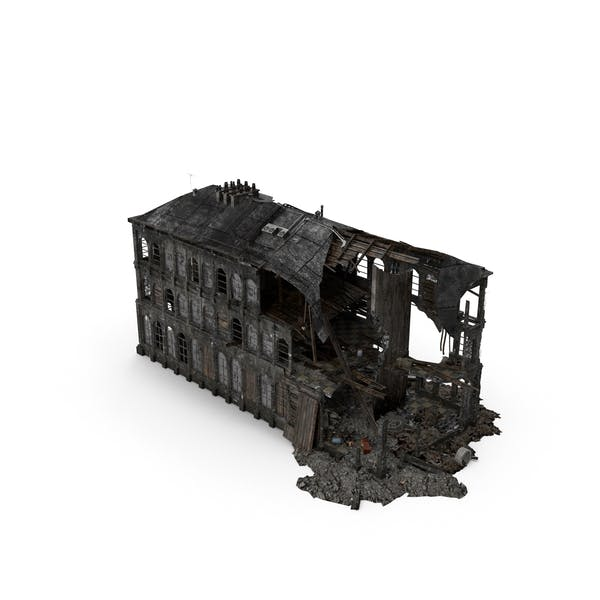 Thumbnail for Burned Building
