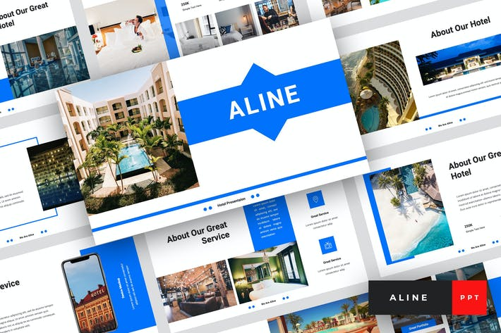 Thumbnail for Aline - Hotel PowerPoint Template