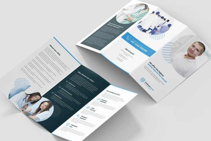 Thumbnail for Brochure – Doctor Tri-Fold