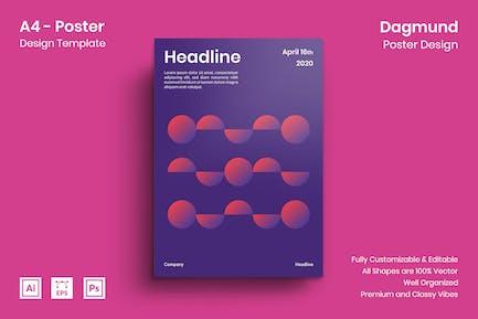 Dagmund Poster Design
