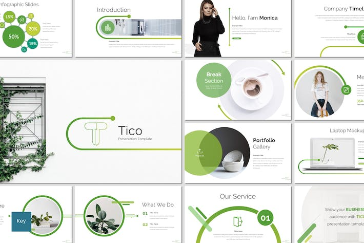 Cover Image For Tico - Keynote Template