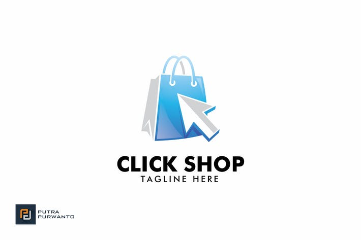Thumbnail for Click Shop - Logo Template