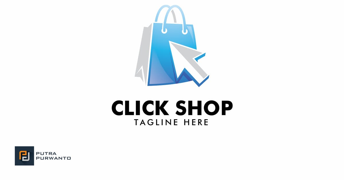 Download Click Shop - Logo Template by putra_purwanto