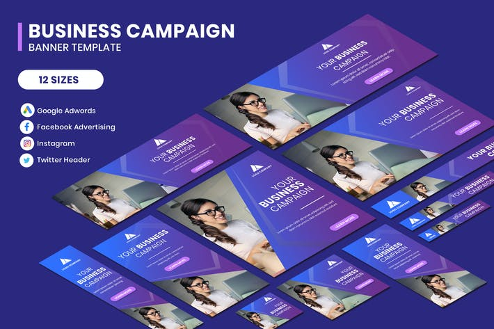 Thumbnail for Business Campaign Banner Template