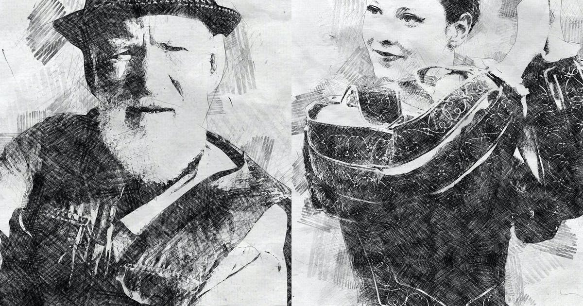 Download Pencil Sketch Photoshop Action by IndWorks
