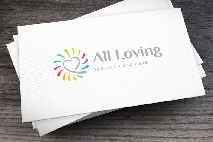 Thumbnail for All Loving Logo Template