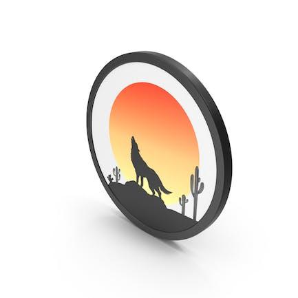 Icon Sunset Scene
