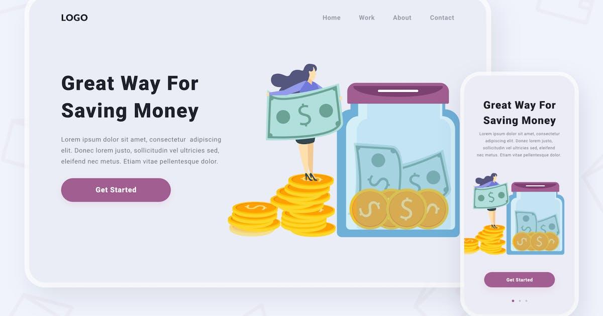Download Saving money illustration by buydesign