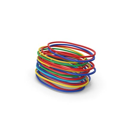 Rubber Bands Stack