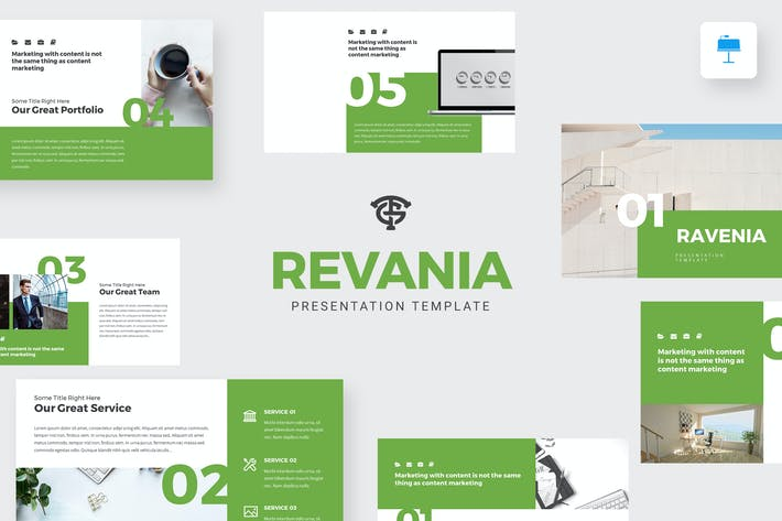 Thumbnail for Revenia Marketing - Keynote