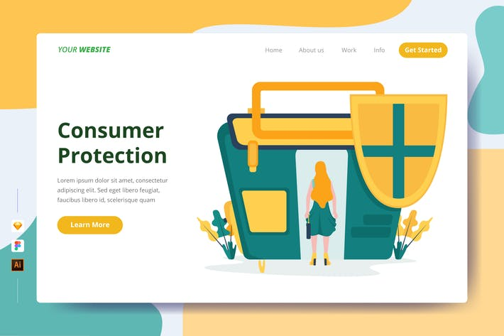 Thumbnail for Consumer Protection - Landing Page