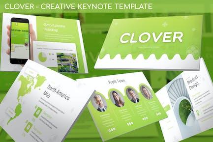 Clover - Creative Keynote Template
