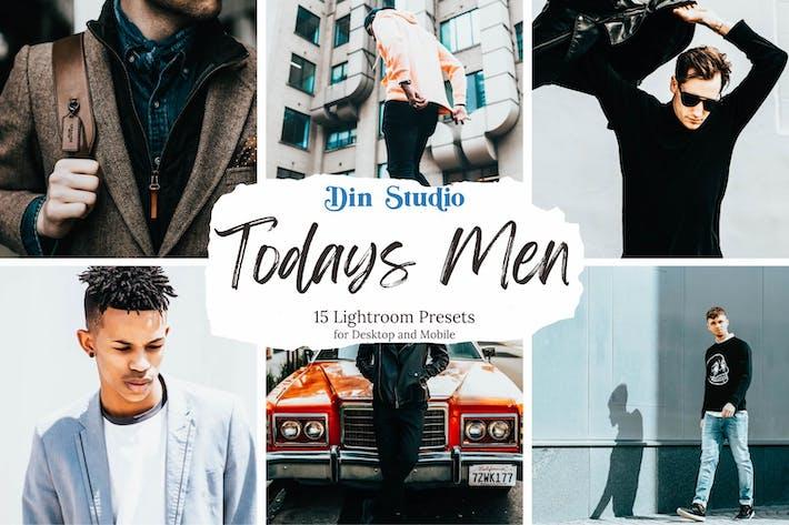 Todays Мужчины Пресеты Lightroom