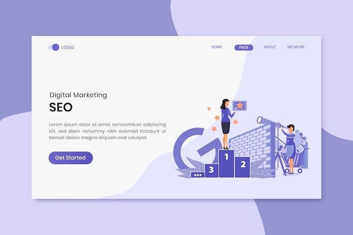 Thumbnail for Seo Digital Marketing Landing Page