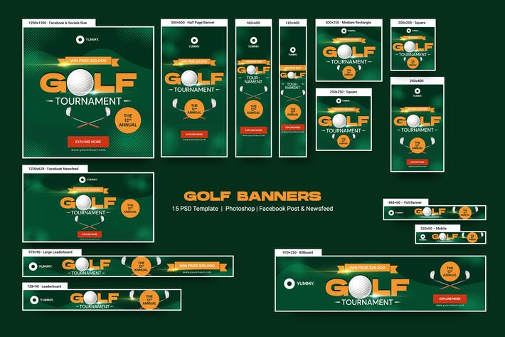 Thumbnail for Golf Banners Ad