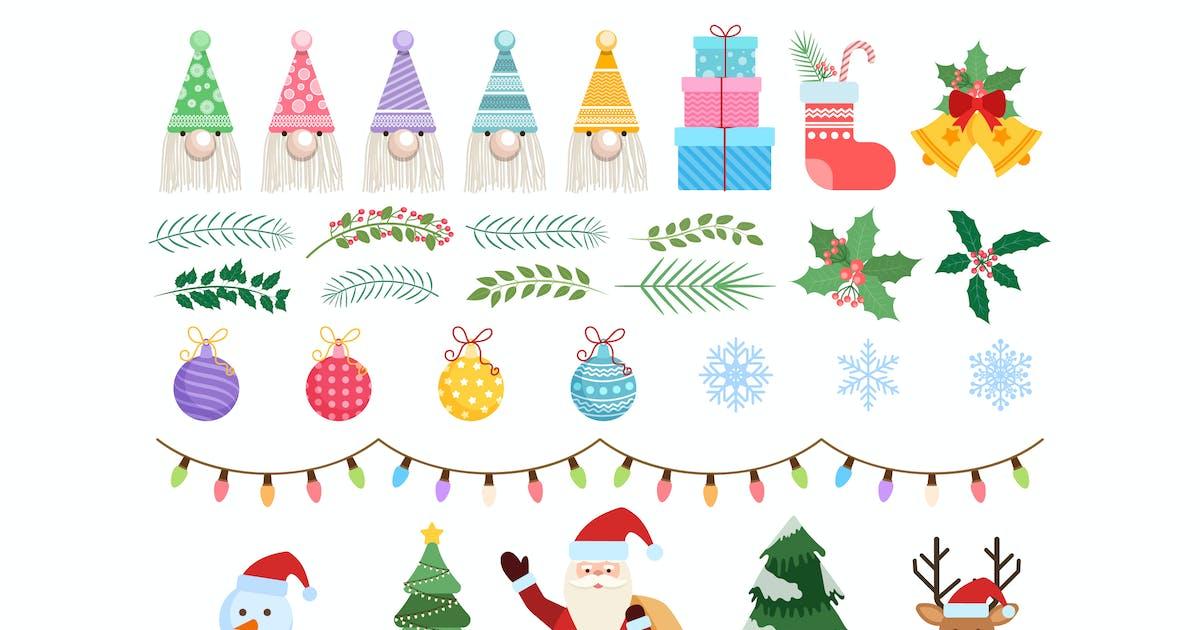 Download Christmas Element Set by C-Kav