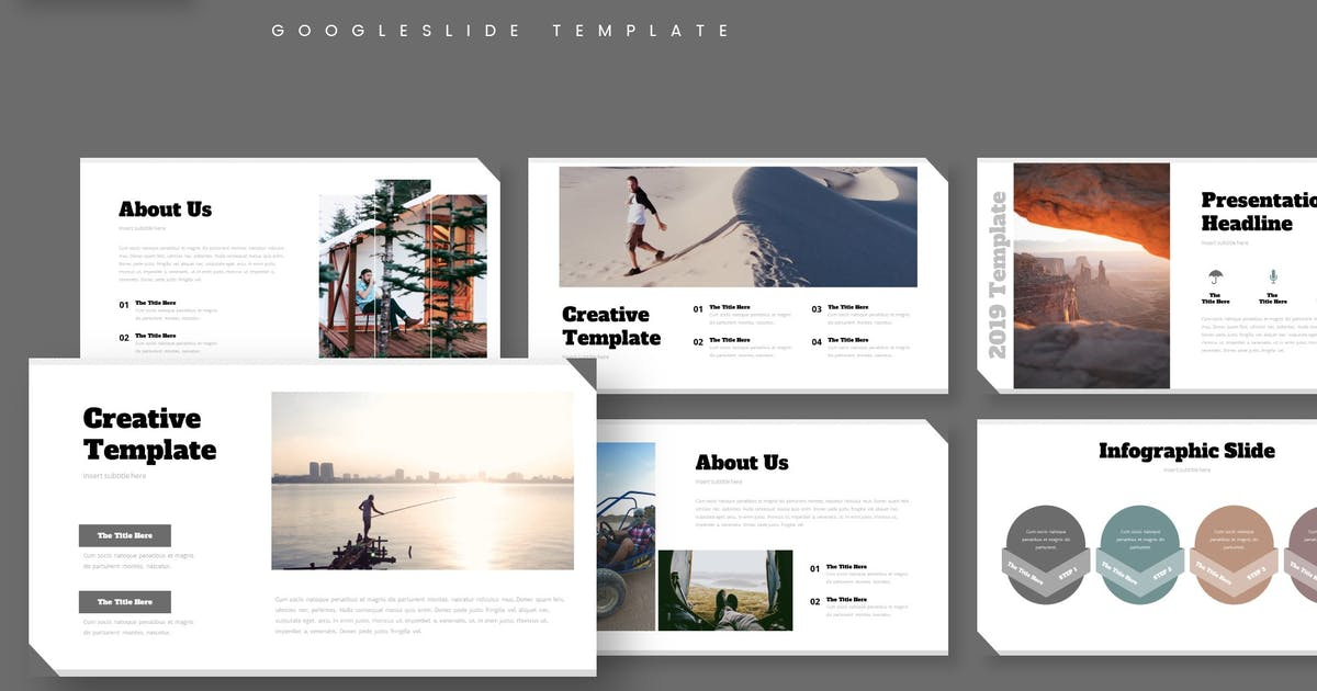 Download Camping - Google Slide Template by aqrstudio