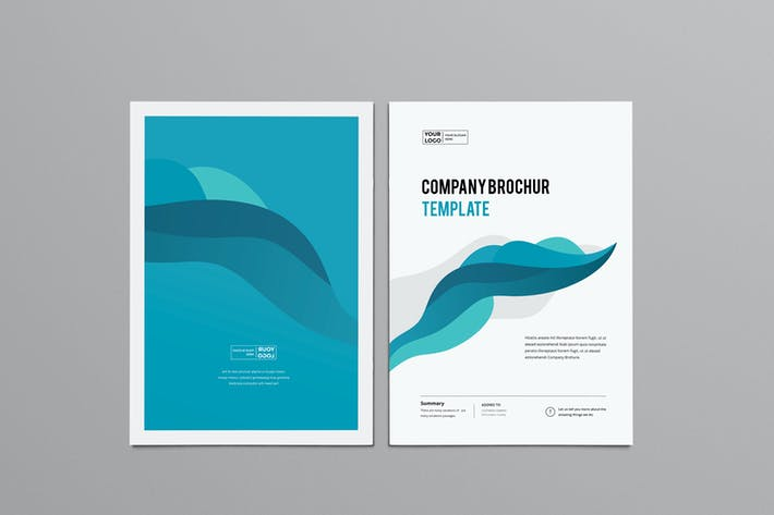 Thumbnail for Clean & Modern Multipurpose Brochure V1