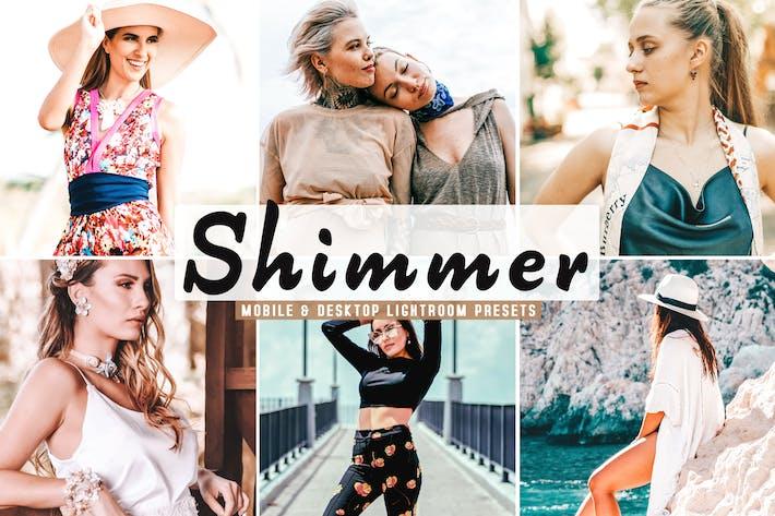 Thumbnail for Shimmer Mobile & Desktop Lightroom Presets