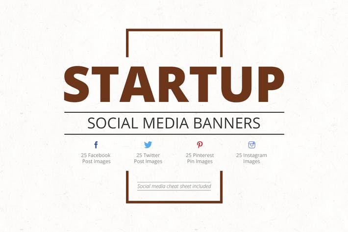 Thumbnail for Startup Social Media Banners