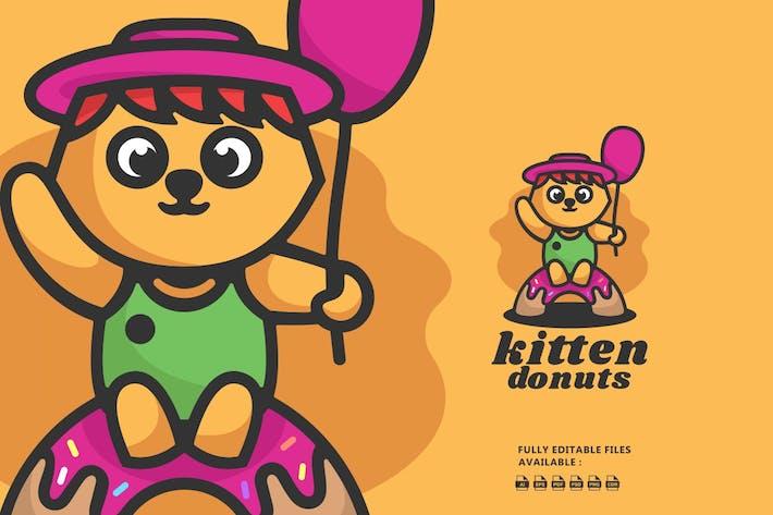 Cat Cartoon Logo